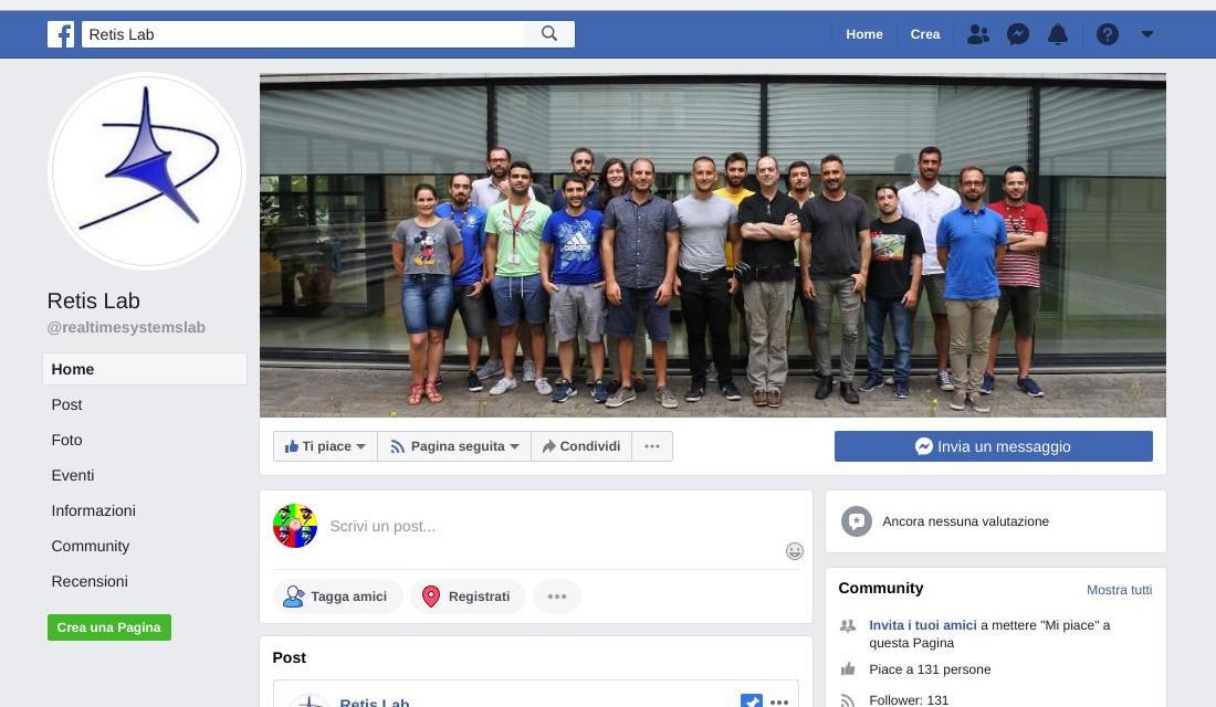 The ReTiS lab on Facebook